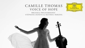 "La violoncel·lista Camille Thomas presenta ""Voice of hope"""