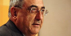 Joaquim Nadal, cap de l'oposició i president del grup parlamentari del PSC
