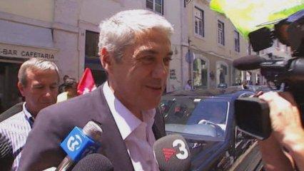 José Socrates, detingut per corrupció