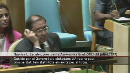 Fa vint anys que a l'ONU es parla català