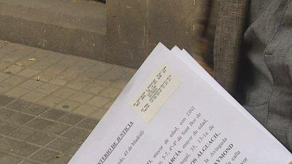 Petició indult dels condemnats pel setge al Parlament