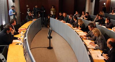 El desacord entre els grups municipals impedeix pactar les conclusions de la comissió de l'hotel del Palau