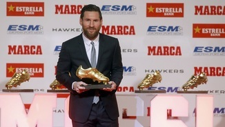 Messi, 5 Botes d'Or