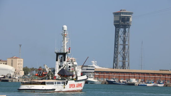 L'Open Arms torna al Mediterrani sense poder fer tasques de rescat de persones