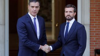Casado diu que el procés sempre ha estat violent i que s'ha d'impedir la vaga general