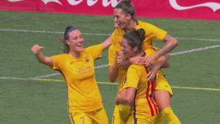 El Barça femení guanya la Copa Catalunya