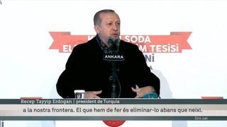 Erdogan amenaça d'atacar Síria si les milícies kurdes no es retiren