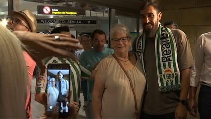 L'arribada de Borja Iglesias a Sevilla