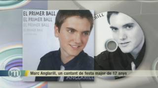 Marc Anglarill, un cantant de festa major de 17 anys