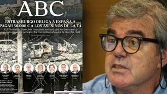 Gorka Knörr critica la portada de l'ABC acusant els jutges del Tribunal d'Estrasburg