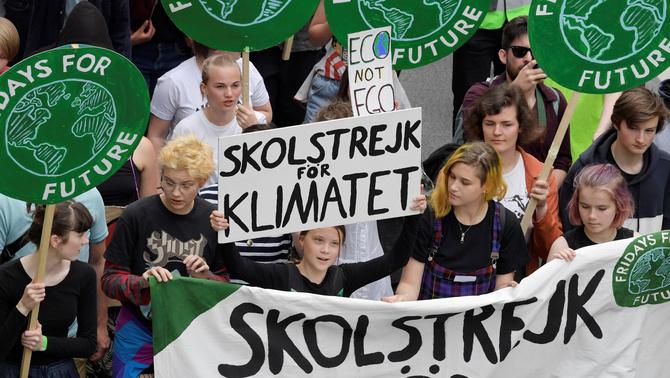 Vaga mundial pel clima per influir en les europees