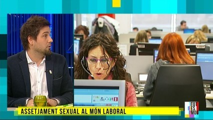 Assetjament sexual al món laboral