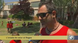 L'onada de calor al Bages