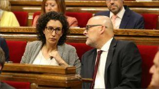 Marta Rovira i Lluís Corominas