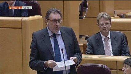 Picabaralla entre Cleries i Sáenz de Santamaría al Senat