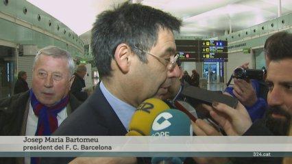 Bartomeu vol un estadi gran per a la final