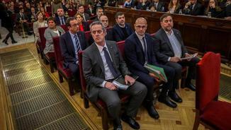 """Els juristes Martín Pallín i Isabel Elbal preveuen una sentència dura: """"De 15 anys no baixa"""""""