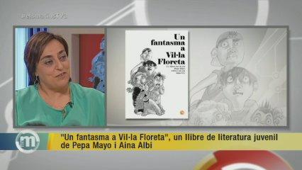 """""""Un fantasma a Vil·la Floreta"""", un llibre de literatura juvenil de Pepa Mayo"""