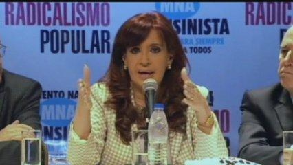 La presidenta argentina parla de la detenció de Rodrigo Rato