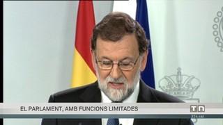 Rajoy: les principals mesures del 155