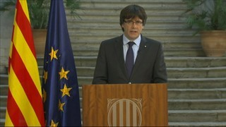 """Puigdemont: """"En una societat democràtica són els parlaments els que cessen els presidents"""""""
