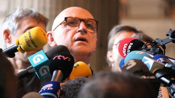 Bekaert diu que la fiscalia belga va avisar l'espanyola que no extradirien Puigdemont
