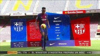 Yerry Mina i André Gomes, a l'Everton