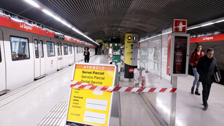 Tallada parcialment l'L1 del metro: quines afectacions i alternatives de transport hi ha?