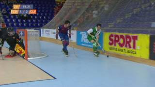 Hoquei patins: F. C. Barcelona - C. P. Calafell (2a part)
