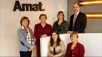 Amat Immobiliaris: relleu generacional en una empresa molt femenina