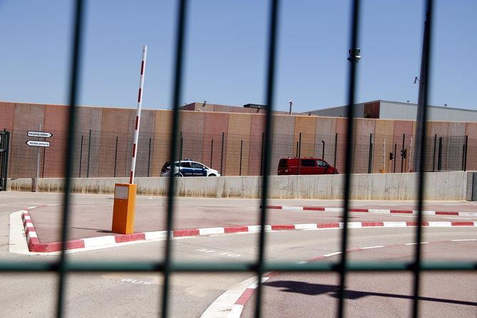 Junqueras, Romeva, Sànchez i Cuixart arriben a la presó de Lledoners