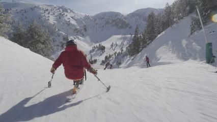 Álvaro Bayona i l'esquí adaptat, passió sense límits