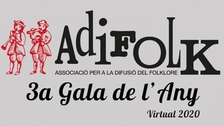 La gala de l'any d'Adifolk en format virtual