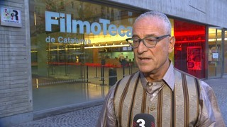 Declaracions de Lluís Miñarro sobre l'homenatge que li dedica la Filmoteca