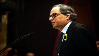 Quim Torra content amb la decisió de la justícia belga