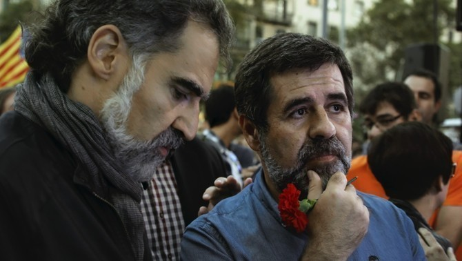 Jordi Cuixart and Jordi Sànchez sentenced to 9 years' prison for sedition
