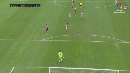 Resum de l'Athletic - Llevant (2-0)