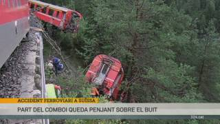 Accident de tren a Suïssa