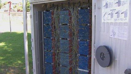 Palau Solità sense telèfon ni internet
