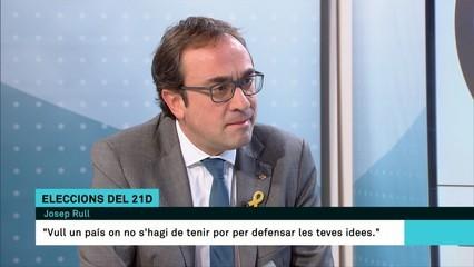 """Josep Rull: """"Sortim de la presó sense una espurna de rancúnia"""""""