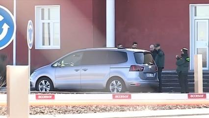Torrent visita a les presons Junqueras, Forn, Sànchez i Cuixart
