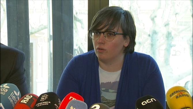 """Mireia Boya (CUP): """"Si entro a la presó, només en sortiré quan tinguem la república"""""""