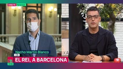 "Nacho Martín Blanco (Cs): ""El rei ha de venir sempre que vulgui a Barcelona"""
