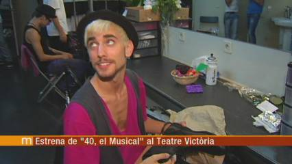 """Estrena """"40, el musical"""""""