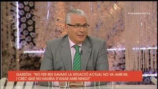 """Garzón: """"No hi ha arguments per mantenir la presó provisional"""""""