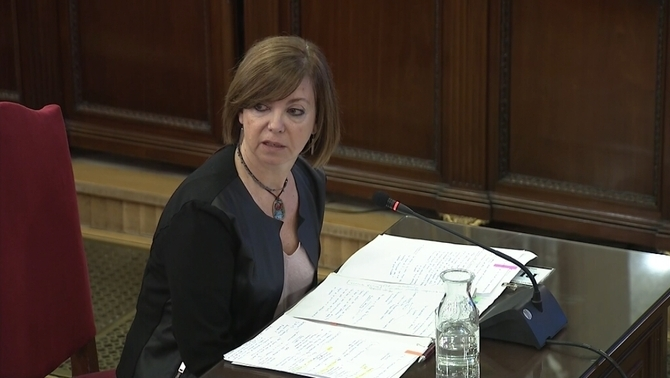 "Meritxell Borràs: ""No public funds were used for the referendum"""