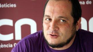 """David Fernández: """"Converteixen la resistència pacífica en delictes més greus que el terrorisme"""""""