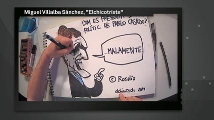 "Les vinyetes d'Elchicotriste a ""Els matins"""