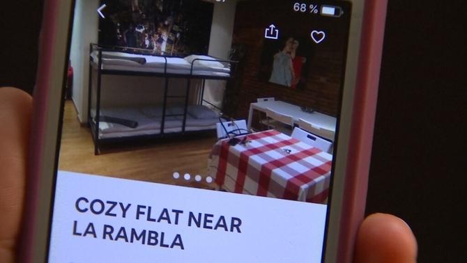 Llogar pisos per rellogar-los a turistes a Airbnb: un negoci fraudulent organitzat