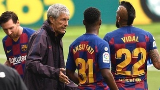 Mala maror al vestidor del Barça